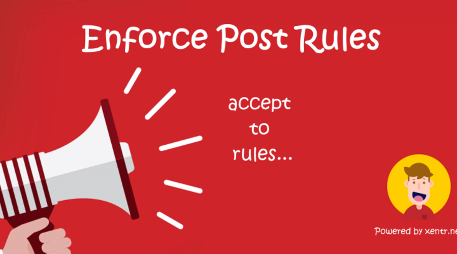 [XTR] Enforce Post Rules